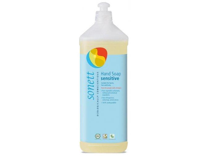 sonett tekute mydlo na ruce sensitiv 1l