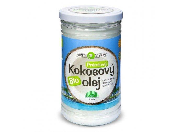 Purity Vision Kokosový olej panenský BIO 900ml