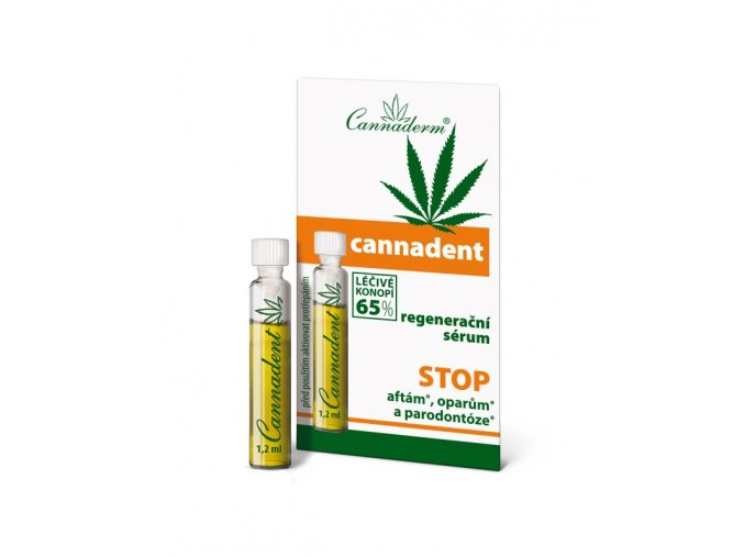 Cannaderm Cannadent dentální sérum 1,5ml