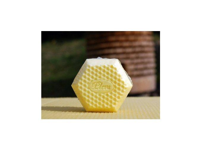 Pleva Medové mýdlo mini 24g