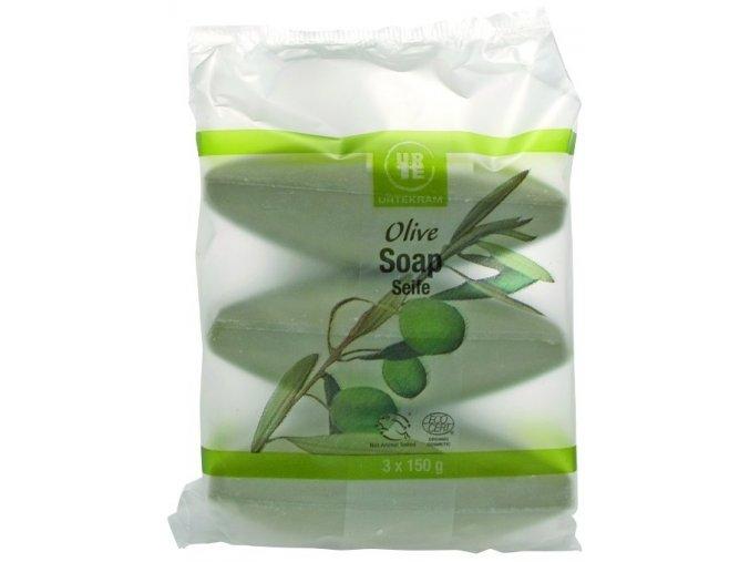Urtekram Mýdlo olivové BIO 3x150g