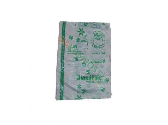 sacky z kompostovatelneho plastu na psi exkrementy