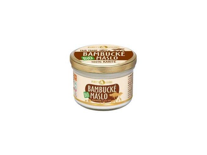 purity vision fair trade bambucke maslo 200ml kosmetika