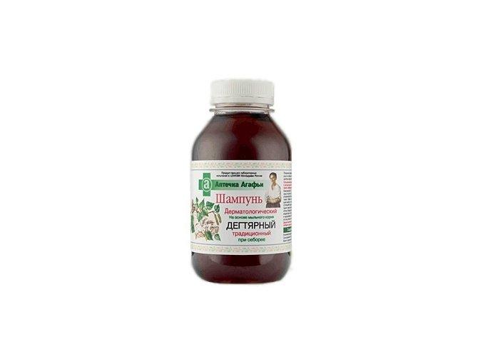 Lékárnička Agáty Šampon s mydlicí a březovým dehtem 300ml