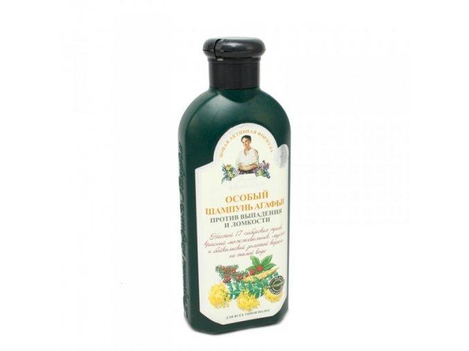 Recepty bylinkářky Agáty Šampon speciální proti vypadávání vlasů 350ml