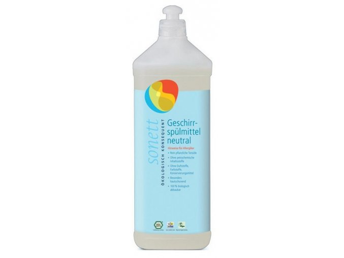Sonett Sensitiv tekutý prostředek na nádobí Sensitiv 1l