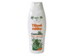 BC Cannabis Tělové mléko 500ml