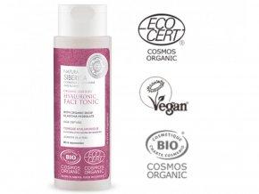 natura siberica organicky certifikovane anti aging pletove tonikum s kyselinou hyaluronovou 150ml