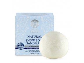 natura siberica snezne rucne vyrabene mydlo