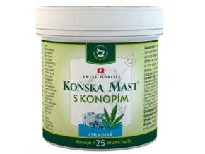 Herbamedicus Koňská mast s konopím chladivá 250ml