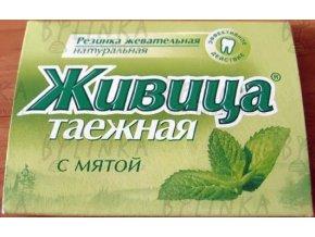 Sibiřská žvýkací pryskyřice s mátou 5 tablet