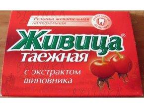 Sibiřská žvýkací pryskyřice s šípkem 5 tablet