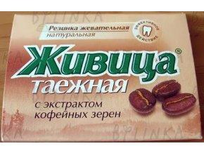 Sibiřská žvýkací pryskyřice s kávou 5 tablet