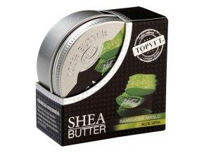 Topvet Bambucké máslo (shea butter 100%) s aloe vera 100ml