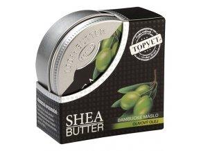 Topvet Bambucké máslo s olivovým olejem 100ml