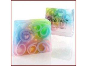 Bomb Cosmetics Glycerinové mýdlo Svobodný duch 100g