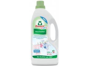 Frosch Hypoalergenní prací gel na kojenecké prádlo 1,5l