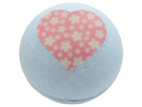 Bomb Cosmetics Šumivá koupelová koule Láska 160g