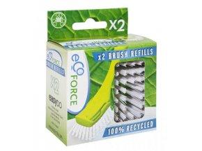 EcoForce Dishmatic kartáč na nádobí náhradní hlavice 2ks