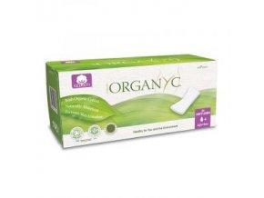 Organyc menstruační vložky z BIObavlny slipové 24ks