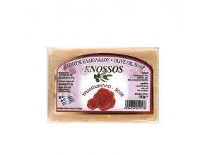 Knossos Olivové mýdlo Růže 100g