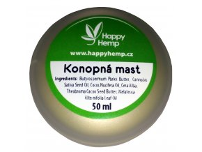 HappyHemp Konopná mast 50ml