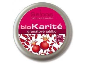 Saloos BIO karité balzám Granátové jablko 250ml