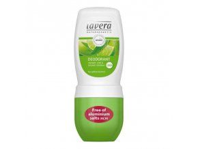 lavera jemny deo roll on bio verbena bio limetka 50ml