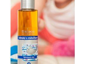 sprchovy olej detsky s mesickem