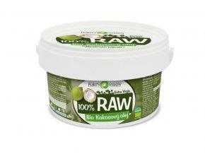 purity vision raw kokosovy olej 2 5l