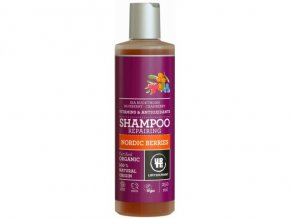Urtekram Šampon Nordic Berries na poškozené vlasy BIO 250ml