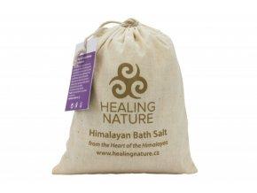 Healing Nature Koupelová sůl s květem levandule 1kg