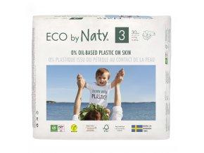 Plenky Naty Nature Babycare Midi 4-9 kg (31 ks)