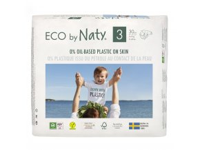 Plenky Naty Nature Babycare Midi 4-9 kg (30 ks)