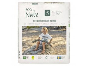 Plenky Naty Nature Babycare Junior 11-25 kg (22 ks)