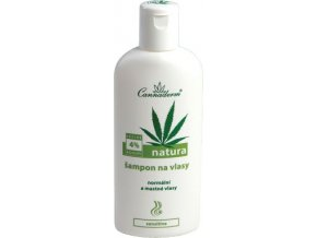 Cannaderm Natura šampon na normální a mastné vlasy 200ml