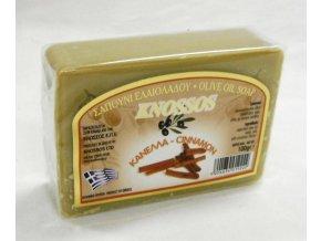knossos olivove mydlo skorice