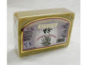 knossos olivove mydlo levandule
