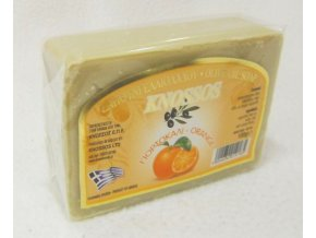 knossos olivove mydlo pomeranc