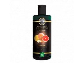 topvet telovy a koupelovy olej grapefruit