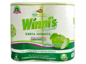 winnis naturel toaletni papir 4 role