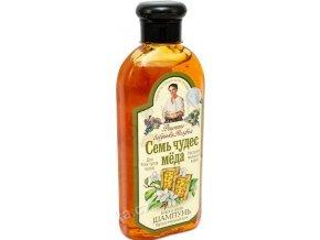 recepty agathy medovy sampon s vcelim voskem 350ml lesk a objem1