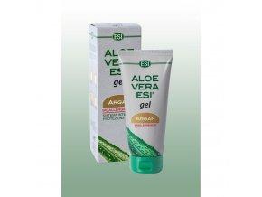 aloe vera gel s arganovym olejem 200 ml esi