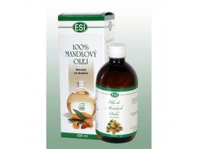 olej mandlovy za studena lisovany 100 ml esi