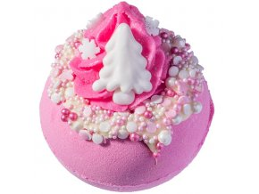 koule růžové vánoce