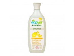 ecover pripravek na myti nadobi citron 500ml ecocert