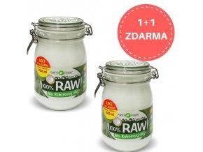 akce raw kokosovy olej 1000ml