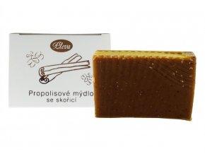 propolisove mydlo skorice