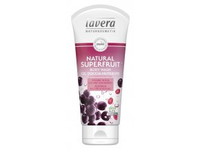 lavera sprchovy gel natural superfruit