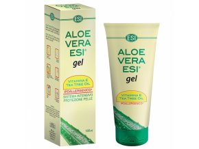aloe vera gel s vit e a tea tree 100 ml esi